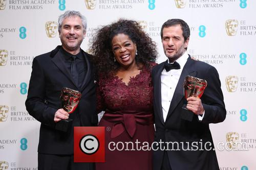 Alfonso Cuaron, David Heyman and Oprah Winfrey