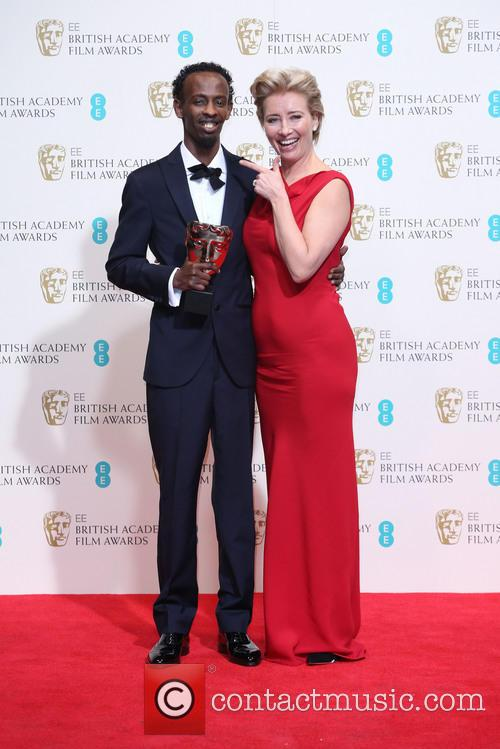 Barkhad Abdi and Emma Thompson 2