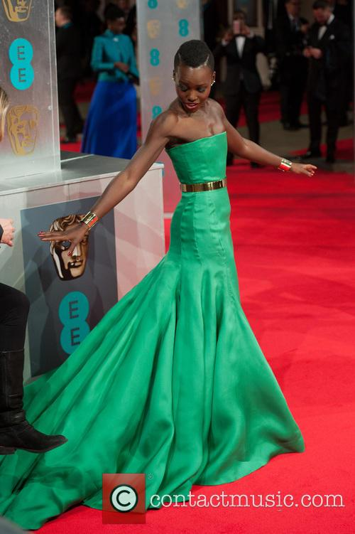 lupita nyong'o bafta red carpet arrivals 4070822