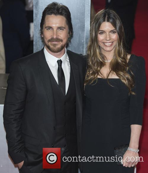 Christian Bale and wife Sibi Blazic at the EE British Academy Film Awards 2014