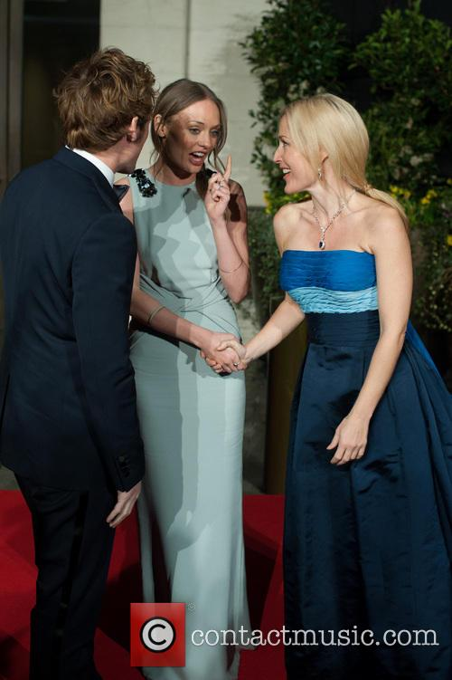 Sam Claflin, Gillian Anderson and Laura Haddock 3