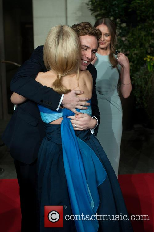 Sam Claflin, Gillian Anderson and Laura Haddock 1