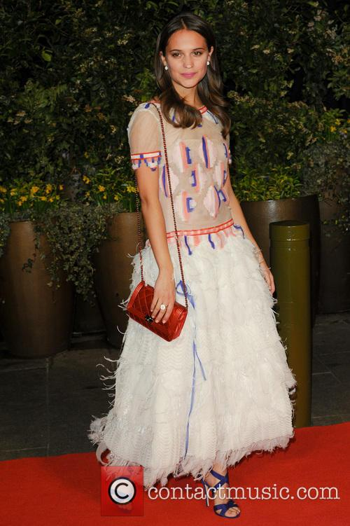 Alicia Vikander, British Academy Film Awards