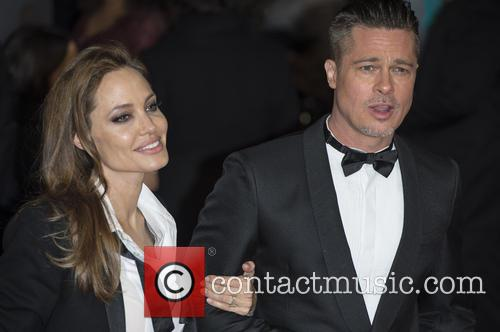 Brad Pitt and Angelina Jolie 5