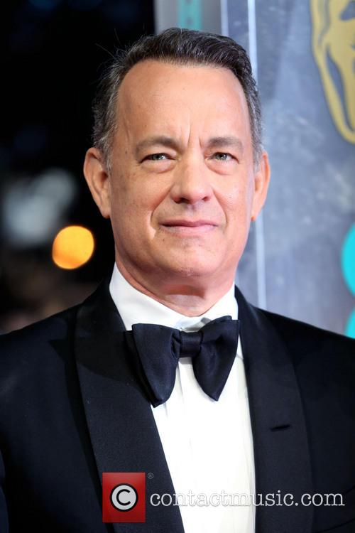 Tom Hanks at 2014 BAFTAs