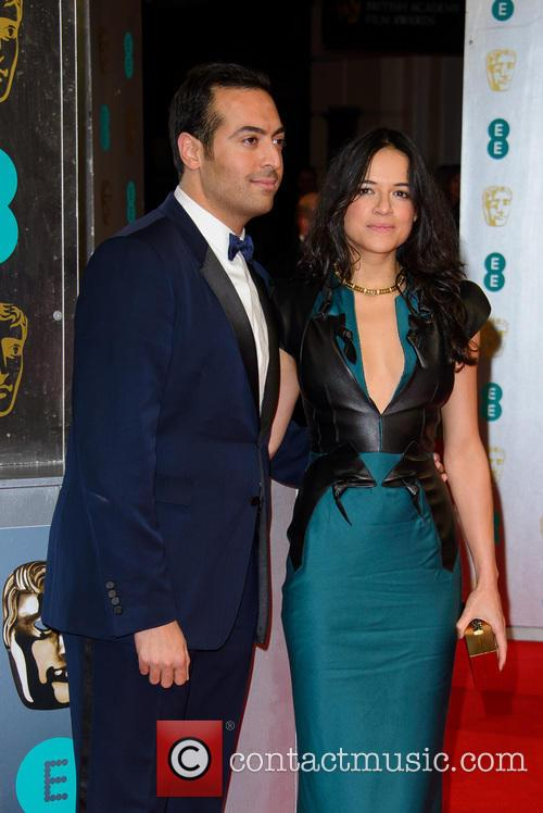 Michelle Rodriguez and Mohammed Al Turki 7