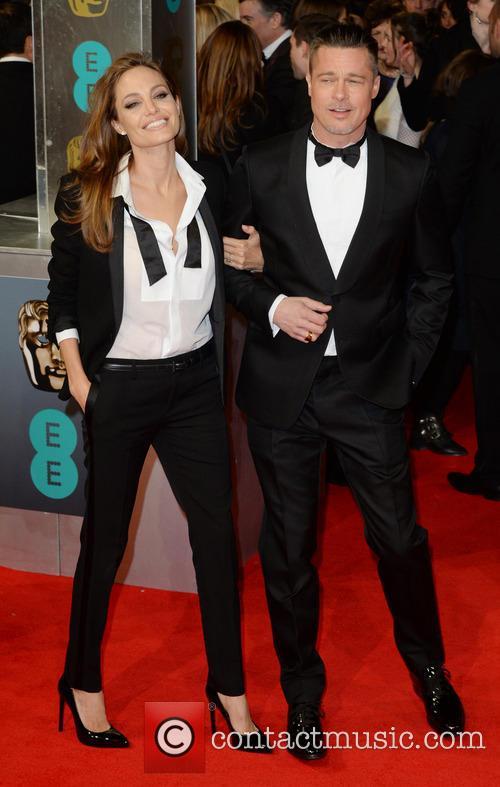 Brad Pitt Angelina Jolie BAFTAs