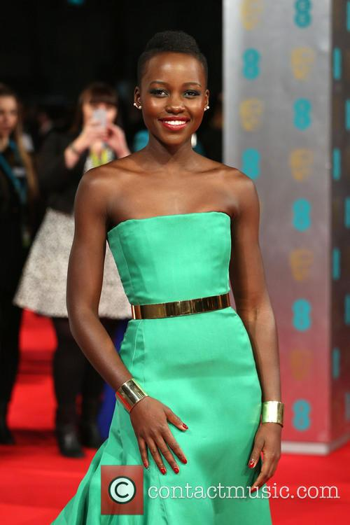 Lupita Nyong'o at the 2014 BAFTAS