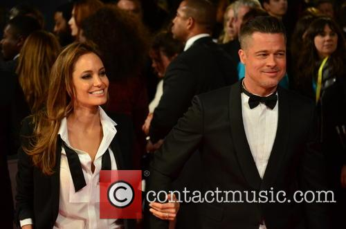 ANGELINA JOLIE, BRAD PITT, British Academy Film Awards