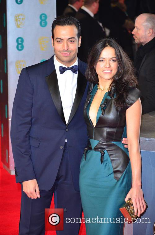 Michelle Rodriguez and Mohammed Al Turki 11