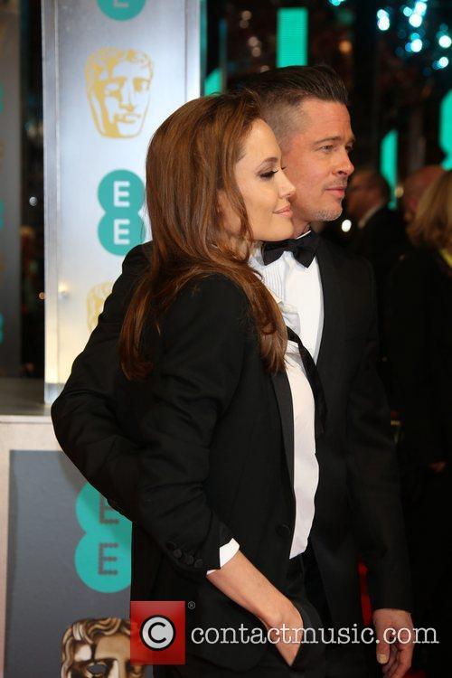 Angelina Jolie, Brad Pitt, British Academy Film Awards