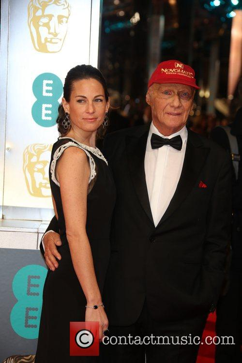 Niki Lauda and Birgit Lauda 1