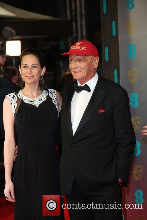 Niki Lauda and Birgit Lauda 8