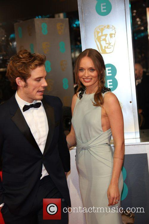 Sam Clafin and Laura Haddock 1