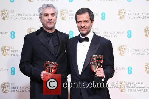 Alfonso Cuaron and David Heyman 5