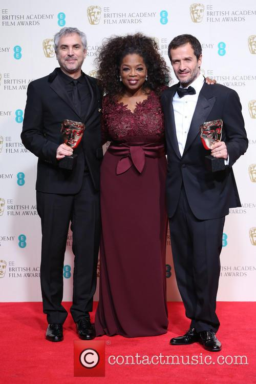 Oprah Winfrey, Alfonso Cuaron and David Heyman 2