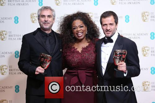 Oprah Winfrey, Alfonso Cuaron and David Heyman 7
