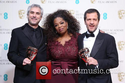 Oprah Winfrey, Alfonso Cuaron and David Heyman 8