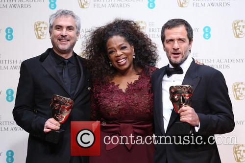 Oprah Winfrey, Alfonso Cuaron and David Heyman 10