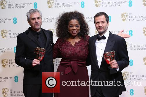 Oprah Winfrey, Alfonso Cuaron and David Heyman 11