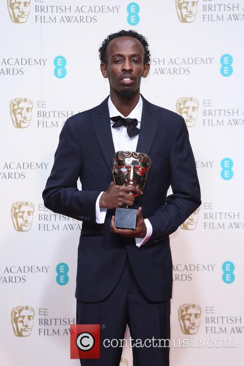 barkhad abdi british academy film awards bafta 4072535