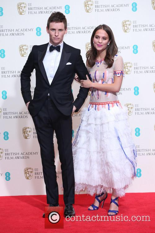 Eddie Redmayne and Alicia Vikander 3