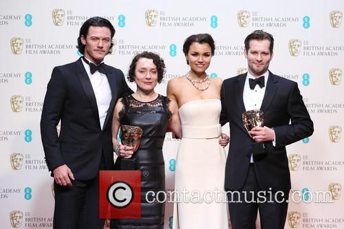 Luke Evans, Samantha Barks, Sophie Venner and James W. Griffiths 2