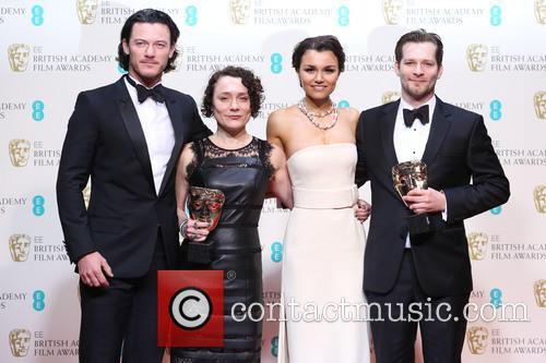 Luke Evans, Samantha Barks, Sophie Venner and James W. Griffiths 1
