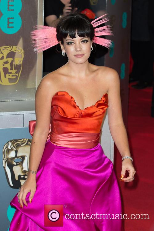Lily Allen, Royal Opera House, Covent Garden, British Academy Film Awards