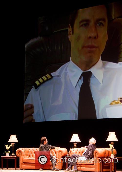 John Travolta and Barry Norman 6