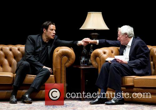 John Travolta and Barry Norman