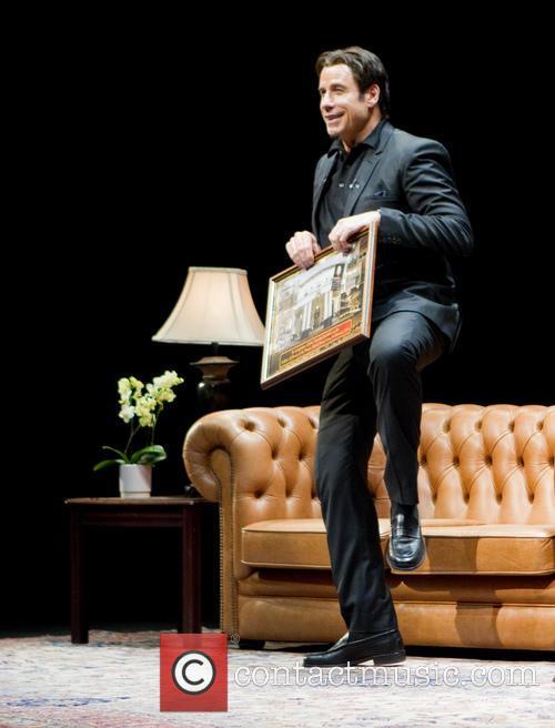 John Travolta, Theatre Royal Drury Lane