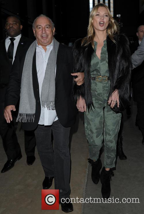 Kate Moss and Sir Philip Green 2