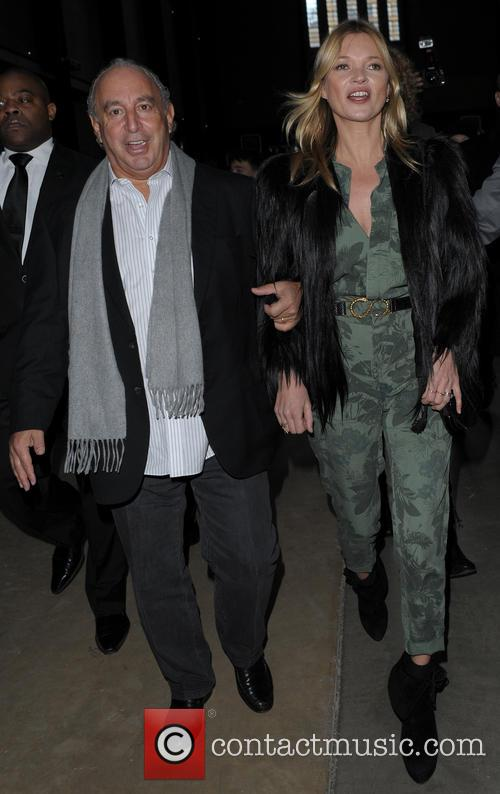 Kate Moss and Sir Philip Green 1
