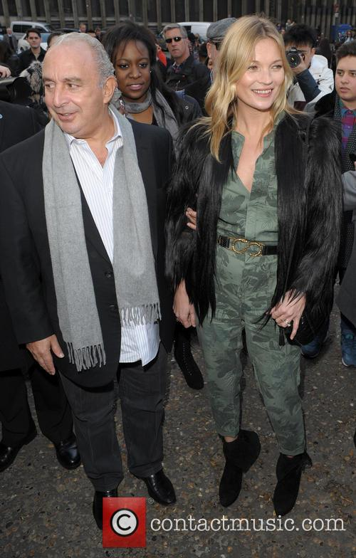 Kate Moss and Sir Philip Green 6