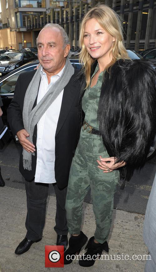 Kate Moss and Sir Philip Green 8