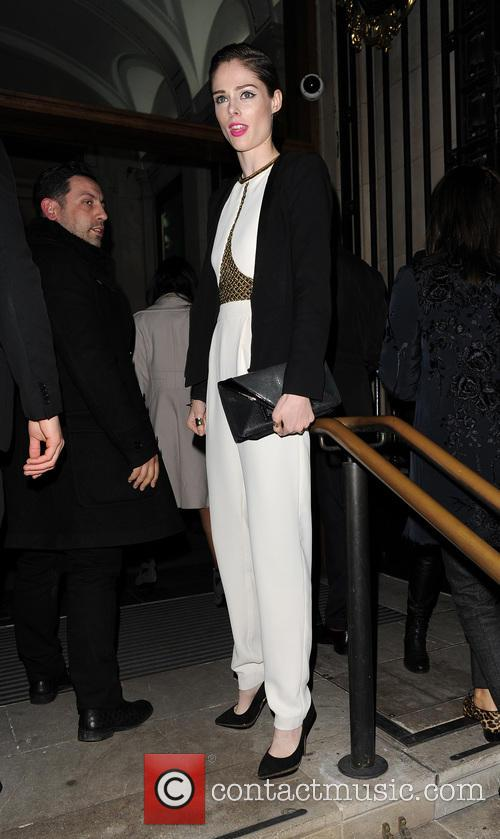 Matthew Williamson LFW AW 2014 - Arrivals and...