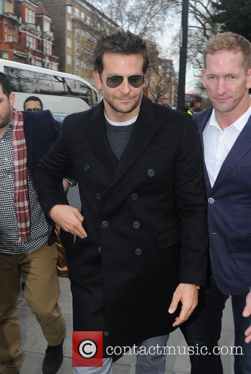 Bradley Cooper at Burberry