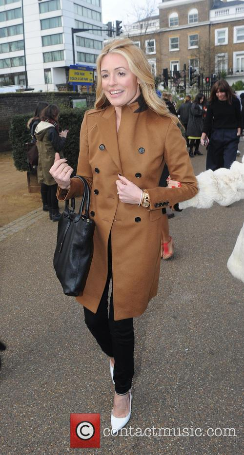 Burberry Fashion Show Departures