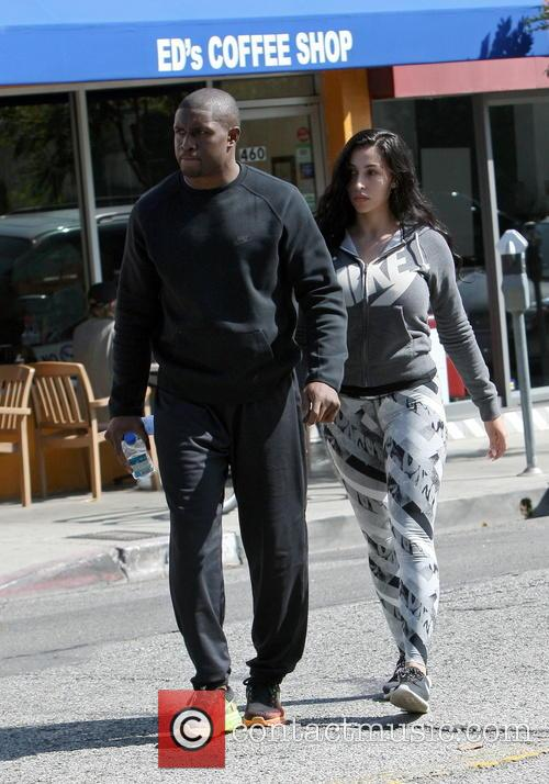 Reggie Bush With Girlfriend Lilit Avagyan