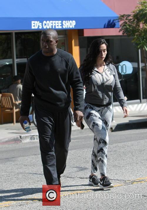 Reggie Bush and Lilit Avagyan 6