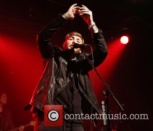 James Arthur performs live