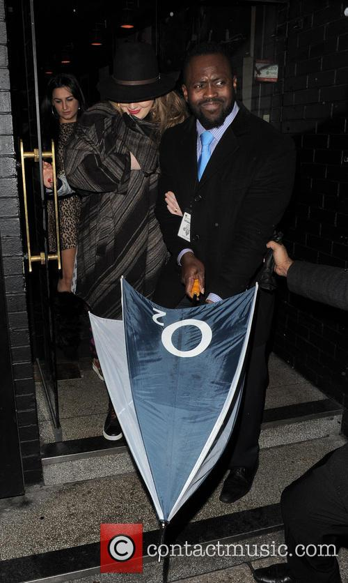 Adele leaving a Prince gig at the famous Ronnie Scott's Jazz Club