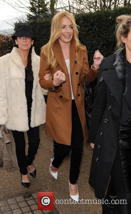 Cat Deeley at London fashion week