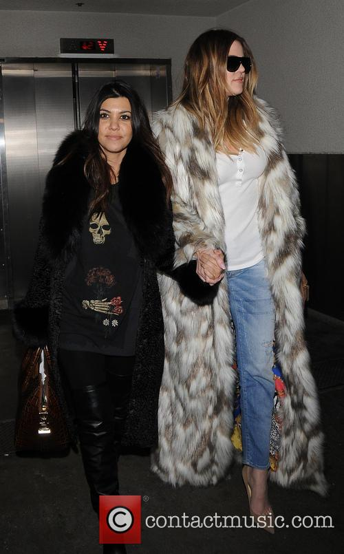 Khloe Kardashian and Kourtney Kardashian 11