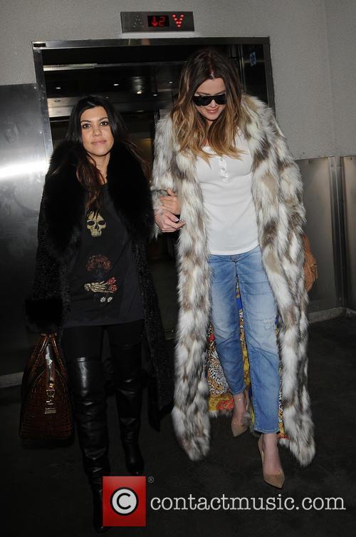 Khloe Kardashian and Kourtney Kardashian 12