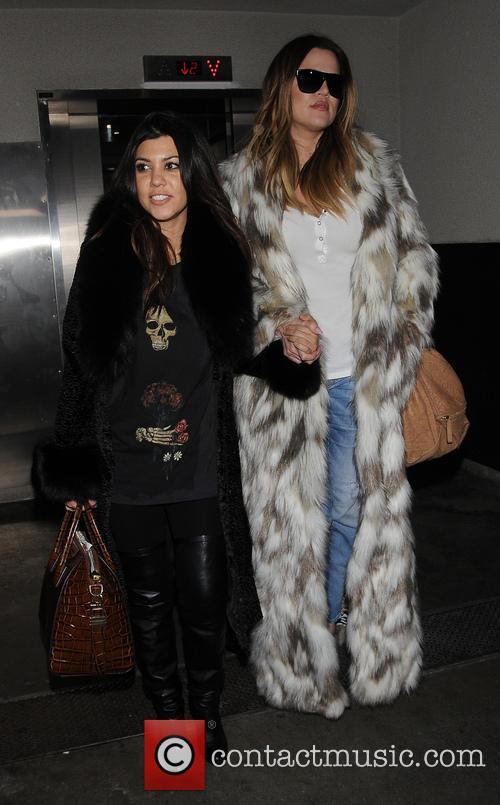 Khloe Kardashian and Kourtney Kardashian 13