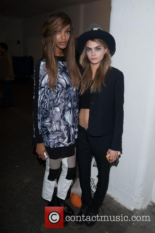 Jourdan Dunn and Cara Delevingne 1