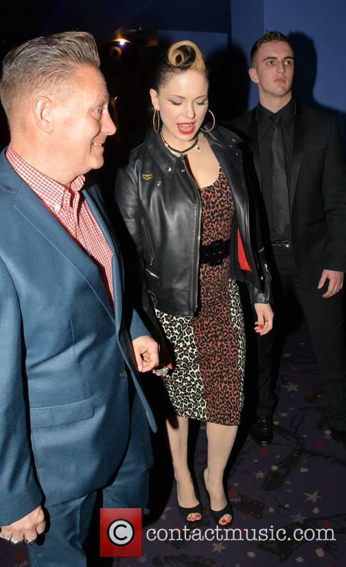 Reb Kennedy and Imelda May 1