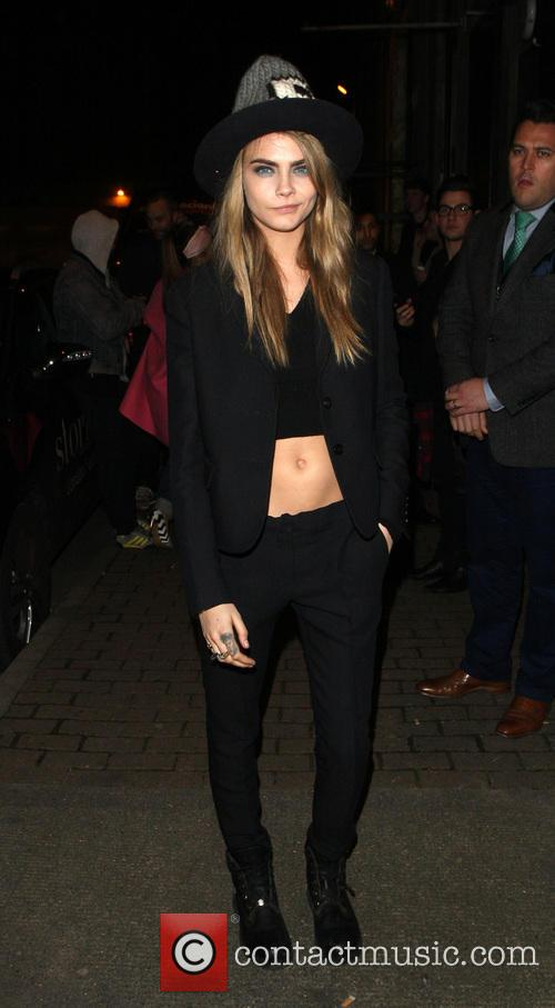Cara Delevingne seen leaving Love magazine party